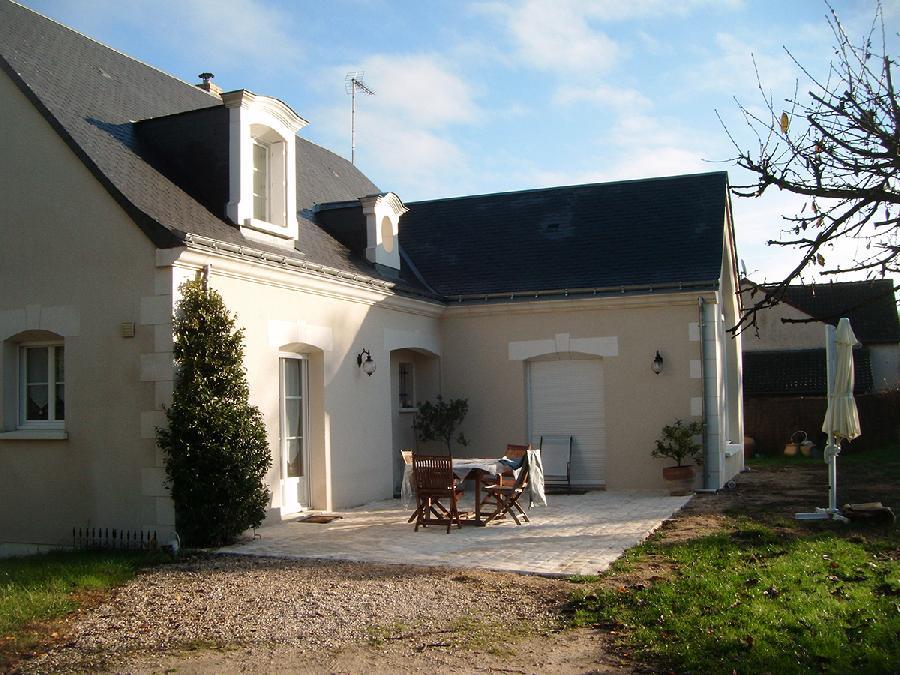 Extension d'une maison (Montlouis)