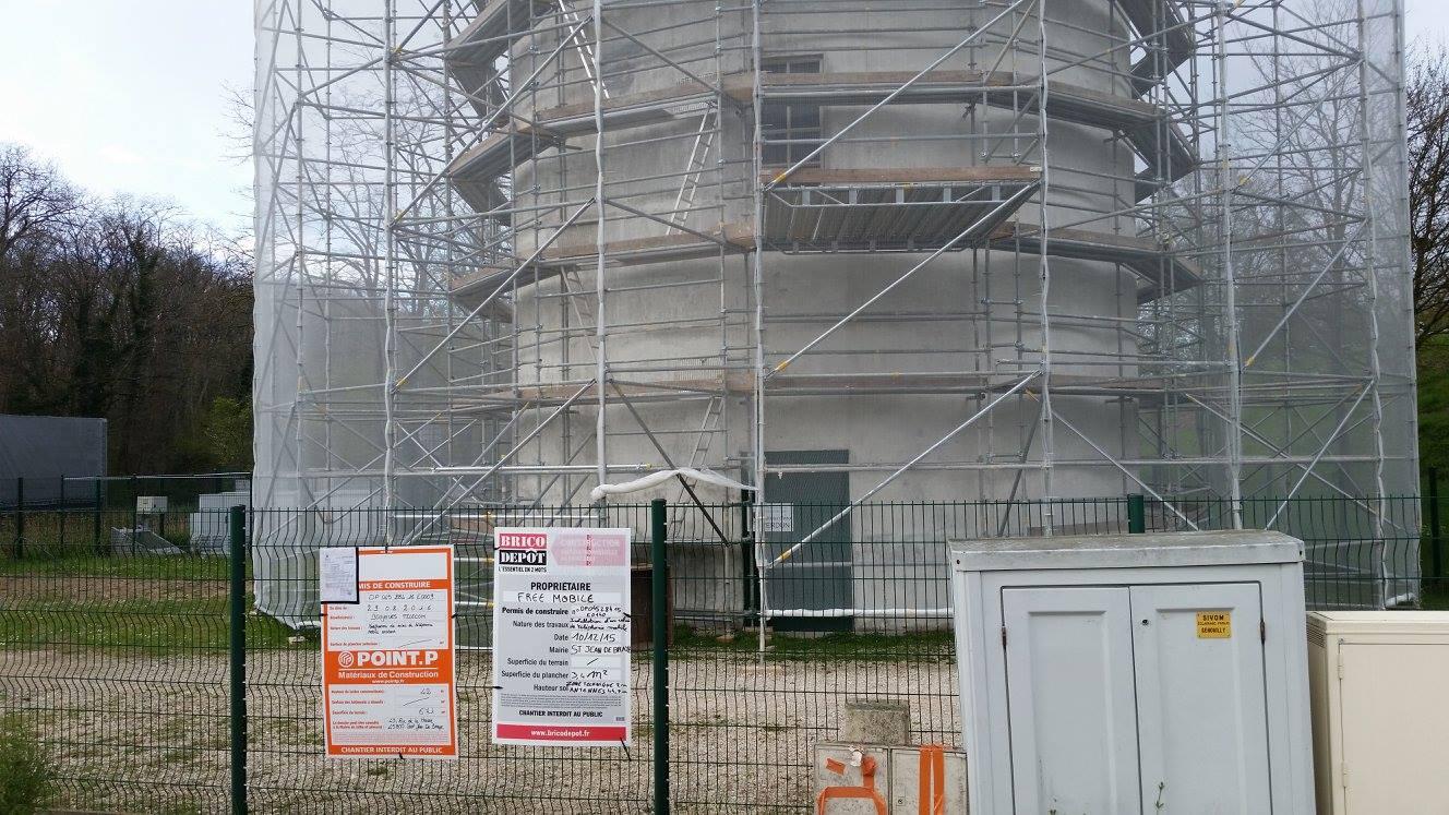 Réalisation d'un GSM à St Jean de Braye