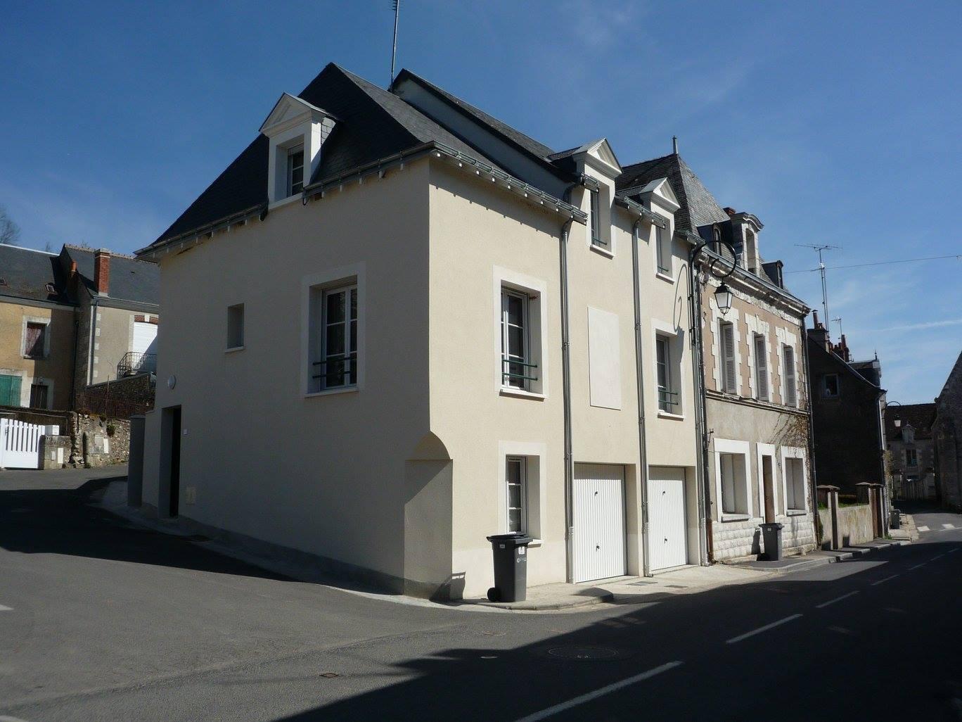 Construction de deux logements à Courçay