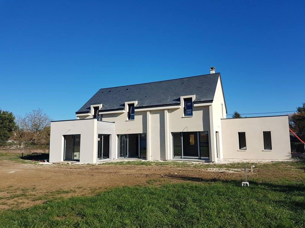 Construction d'une maison à Fondettes