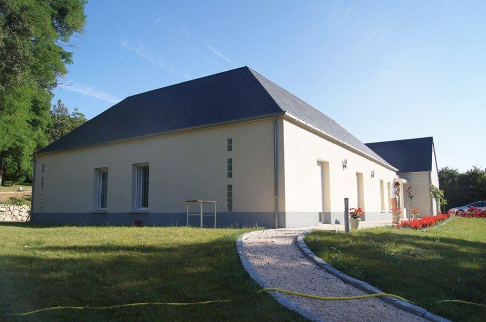 Construction d'une maison à Nazelles