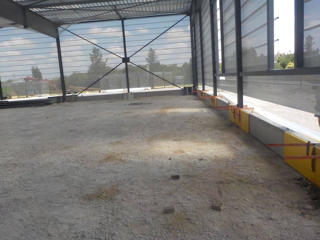 extension batiment industriel