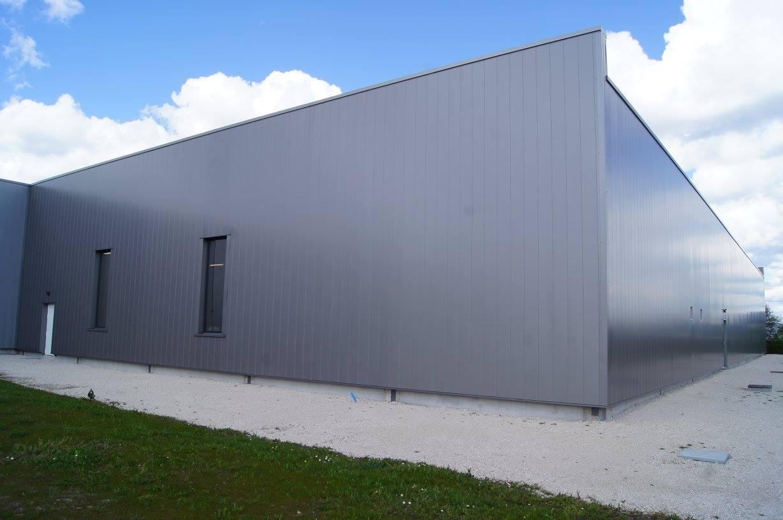 Extension d'un bâtiment industriel à Joué-les-Tours