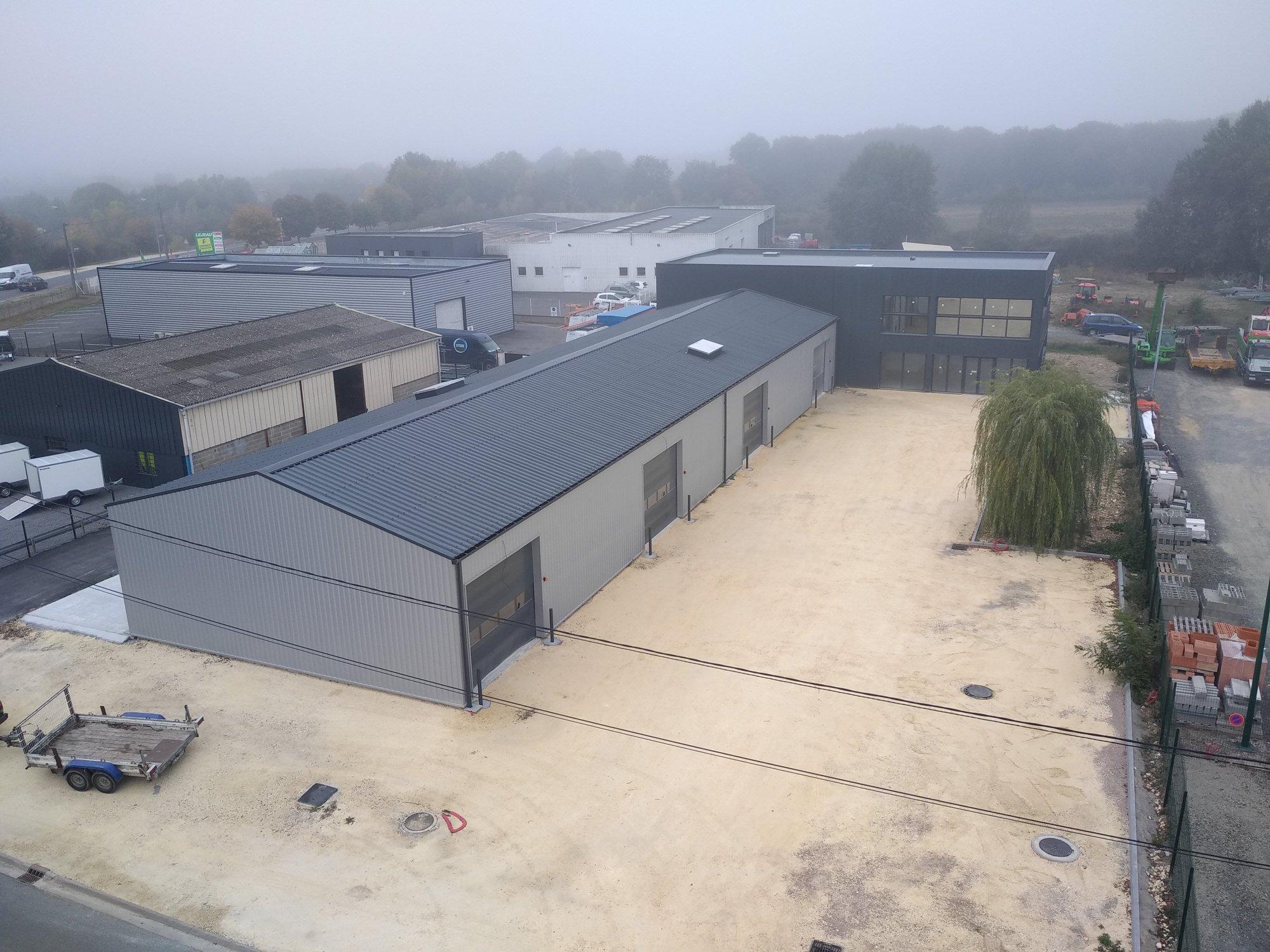 Rénovation et extension d'un bâtiment industriel